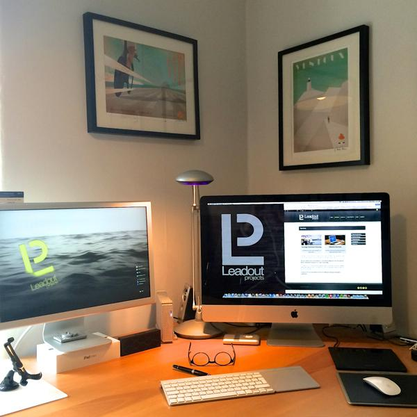 Phil Ward - Leadout Projects Website finished,