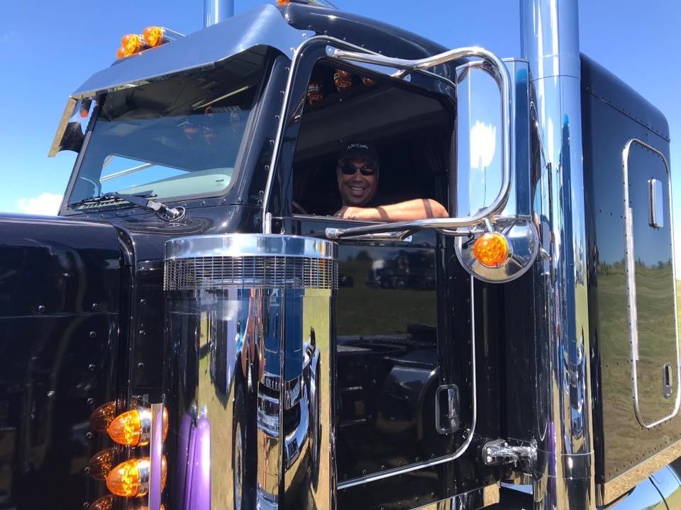 Bruce in Truck