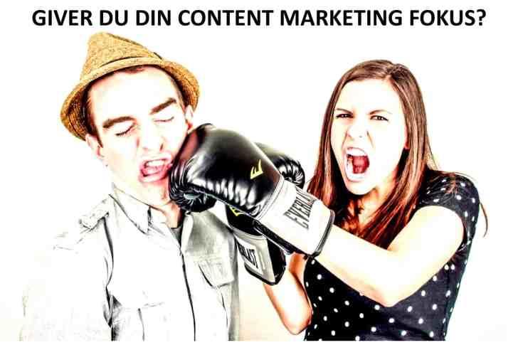 Content Marketing fokus