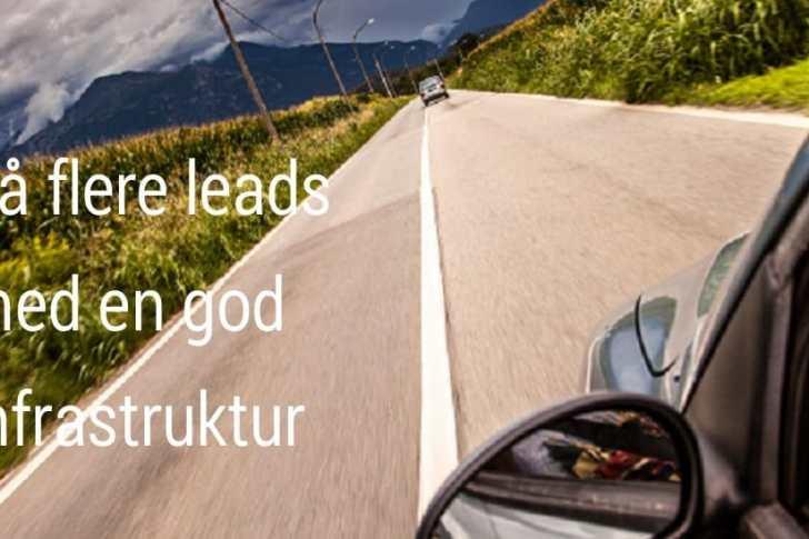 Leadgenerering infrastruktur