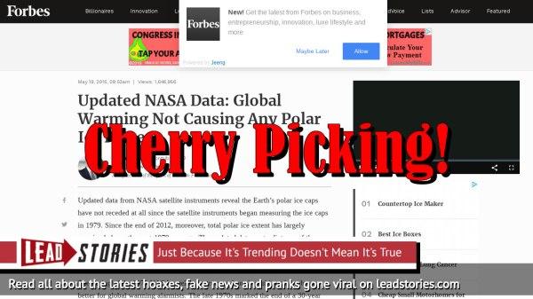Fake News: Updated NASA Data Did NOT Show Global Warming ...