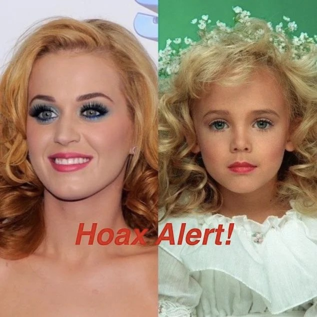 Image result for jonbenet is katy perry