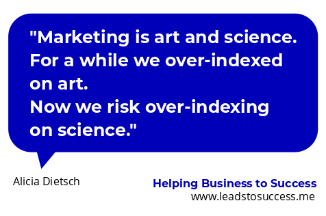 marketing is art and science