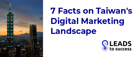 7 facts on Taiwan digital marketing landscape