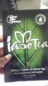 Total Life Changes Iaso Tea - Tamyka Washington