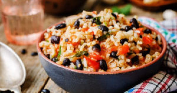 Mexican Recipes Black Bean and Rice Salad