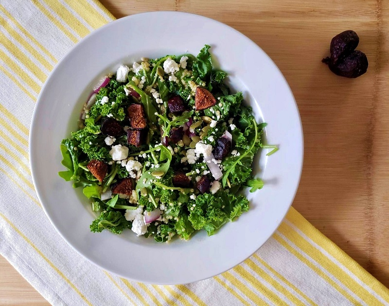 The Leaf Fig Salad Healthy Summer Salads