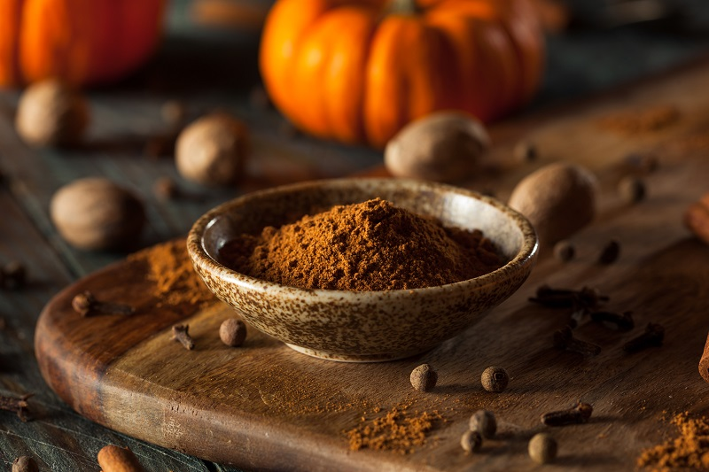 Pumpkin spice is a blend of flavors that are quintessential to fall