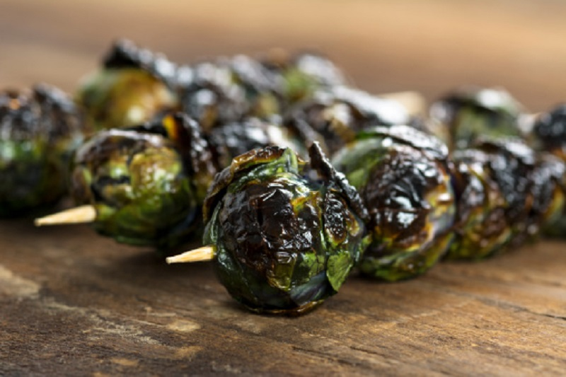 grilled brussels sprout skewers with mustard marinade recipes