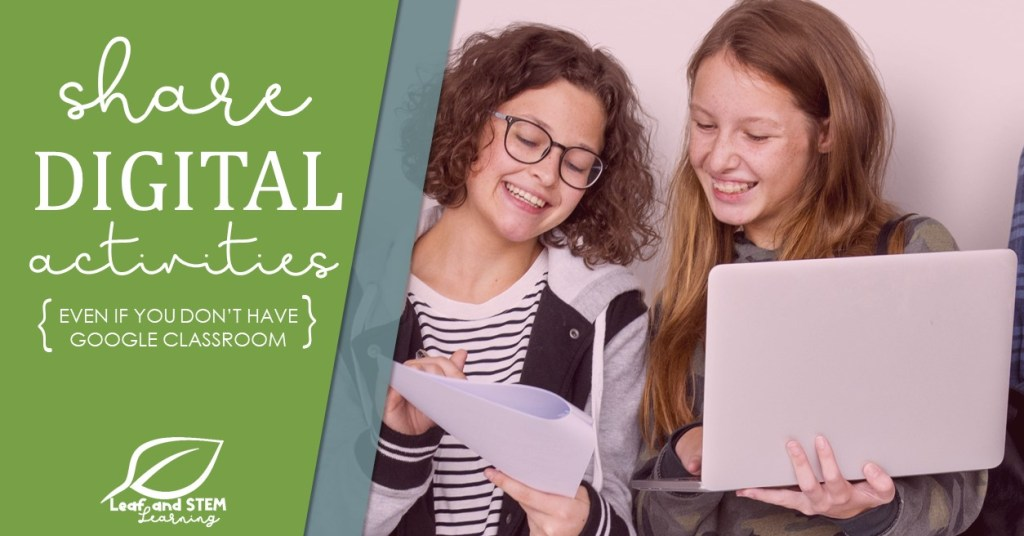 Students share digital activities