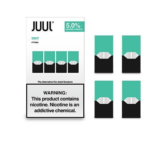 JUUL PODS ICED MINT