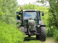 Tractor trailer rides at Waddesdon