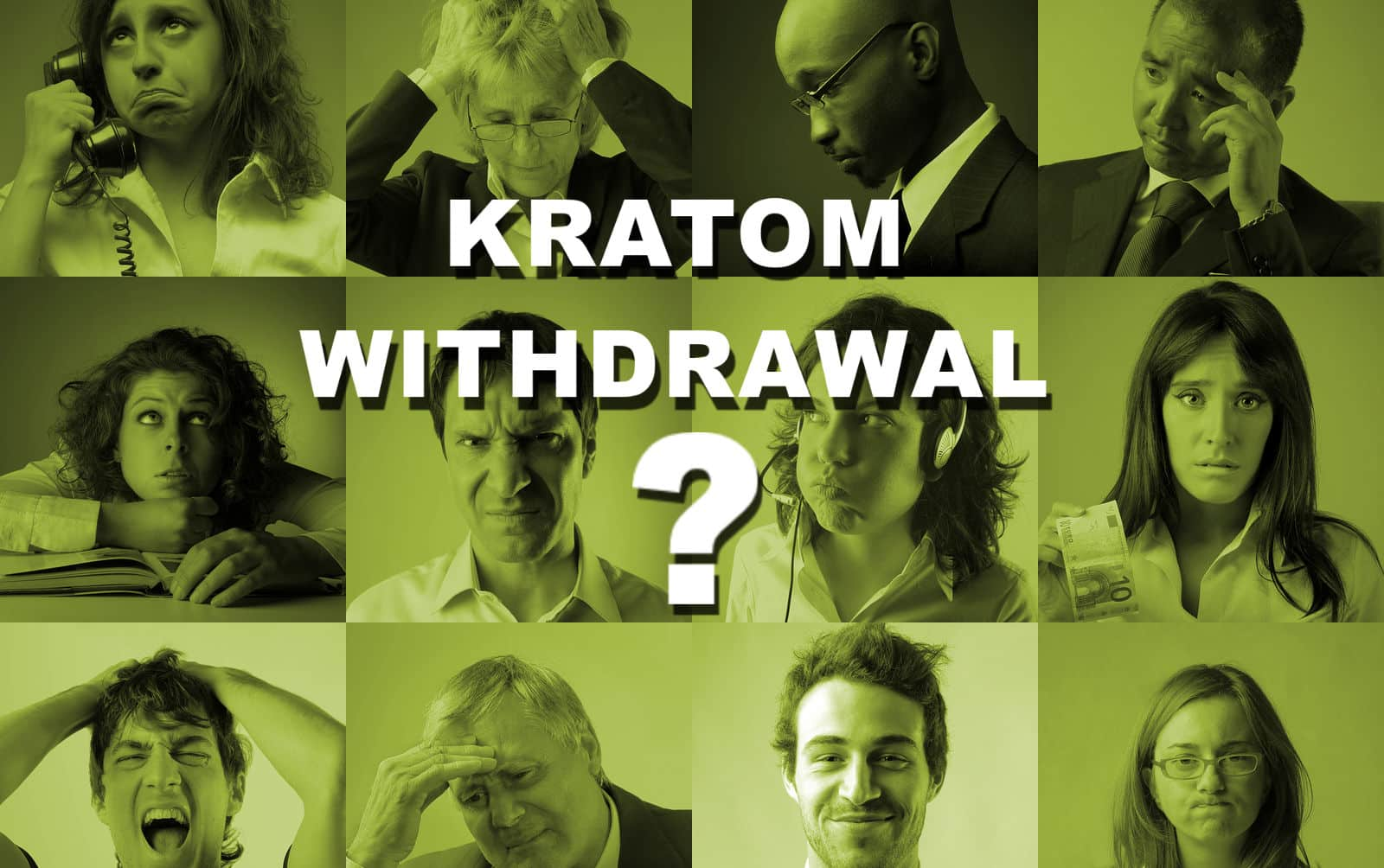 Image result for Kratom Withdrawal