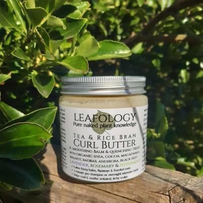 Tea Rice Bran Curl Butter Natural Vegan Skincare