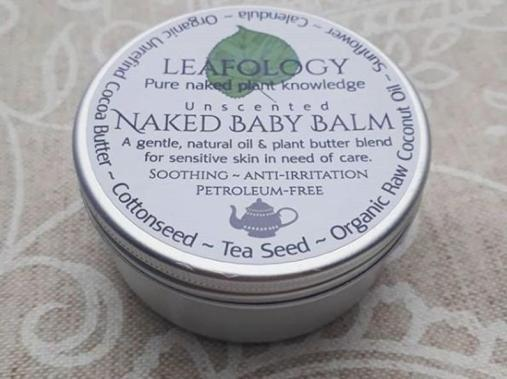 Naked Baby Balm Vegan Skincare Leafology