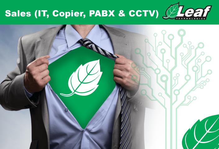 Sales (IT, Copier, PABX & CCTV)