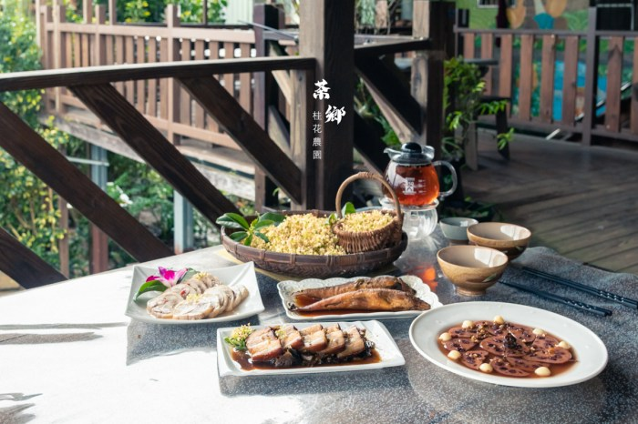石碇特色伴手禮推薦:茶鄉桂花農園,親手挑揀的桂花,讓花香更加雋永/石碇美食餐廳