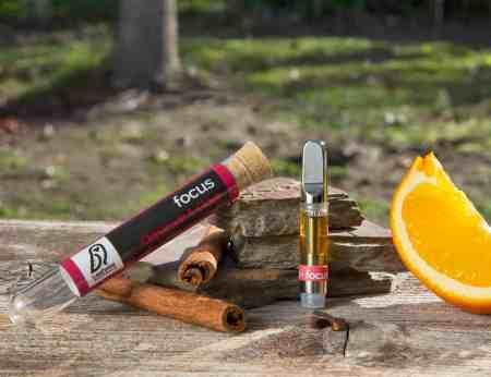 CBD vape cartridge cinnamon clove orange