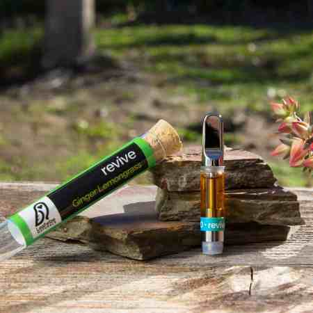 CBD Vape Cart - Ginger Lemongrass
