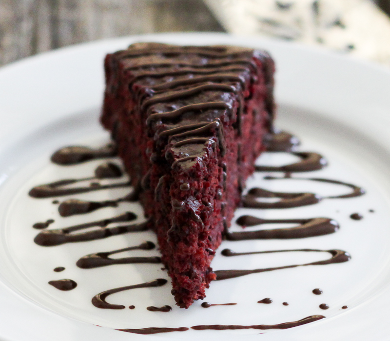 Chocolate Cake Made With Red Beets
