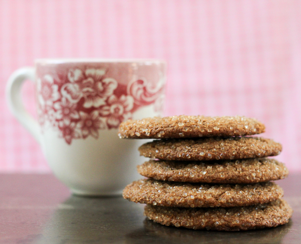 Chewy Molasses Spelt Cookies - Leafy Greens and Chocolate
