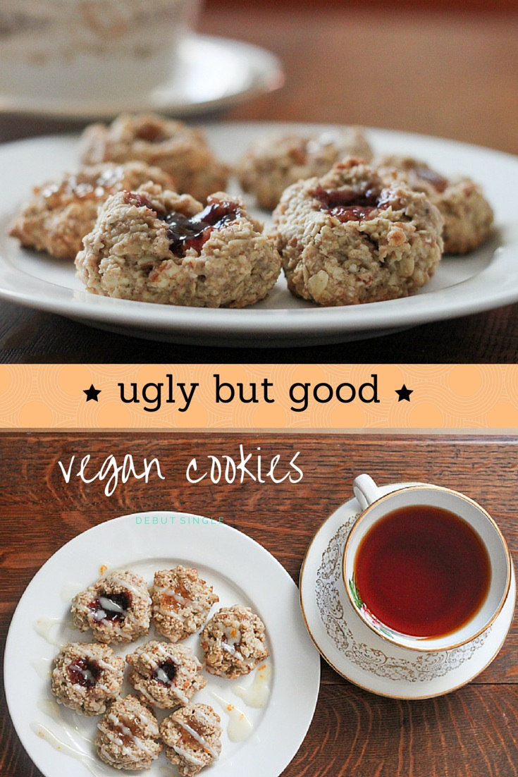 Ugly But Good Vegan Cookies  - Leafy Greens and Chocolate