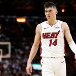 Tyler Herro Breaks Heat Rookie Playoff Scoring Record