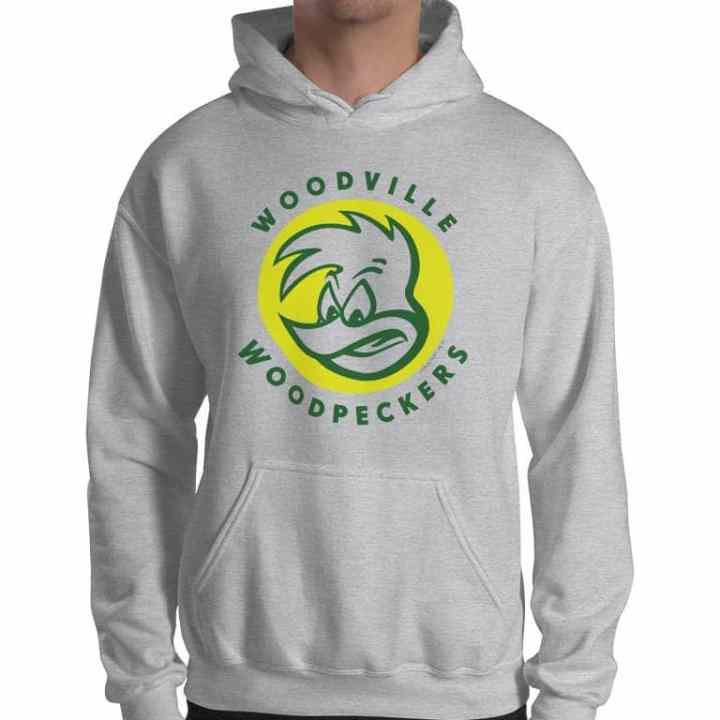 woodville woodpeckers football hoodie