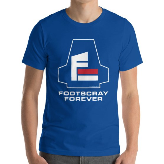 footscray forever football t-shirt