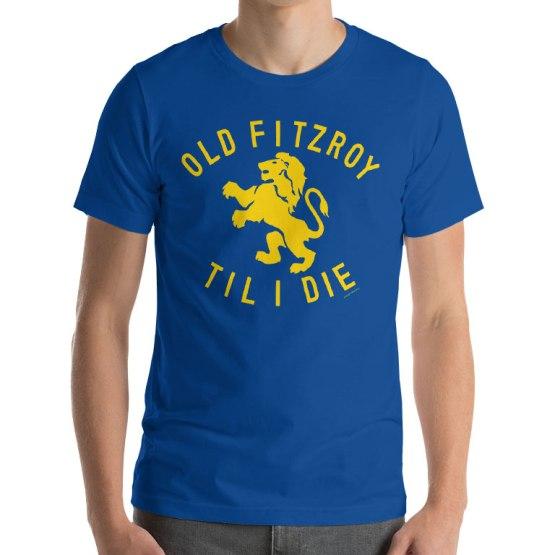 fitzroy football club shirt