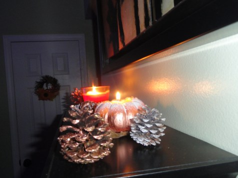 Cones and candles