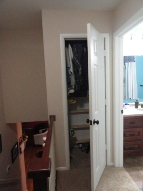 Door to attic
