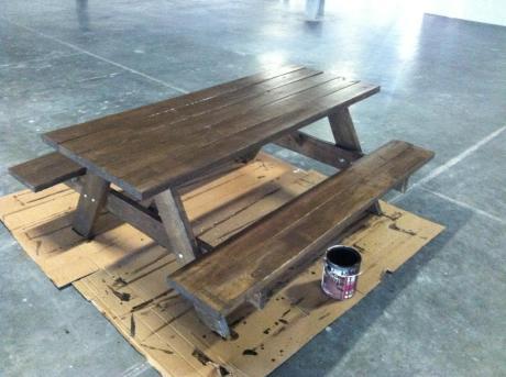Making Picnic Tables