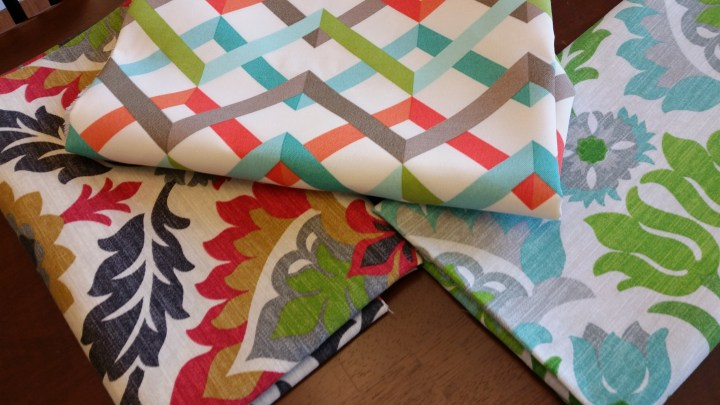 outdoor pillow patterns