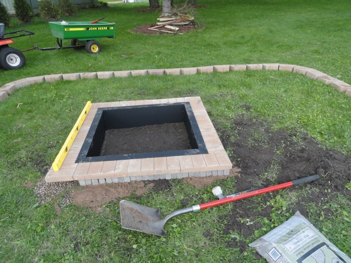how to build a fire pit DIY