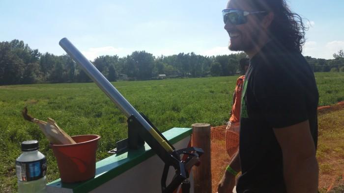 Waldoch Farm Corn Cannon