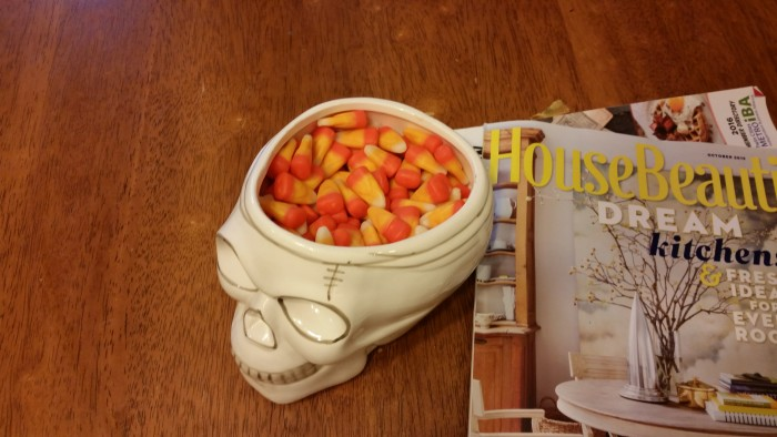 candy corn fall and halloween decor treats