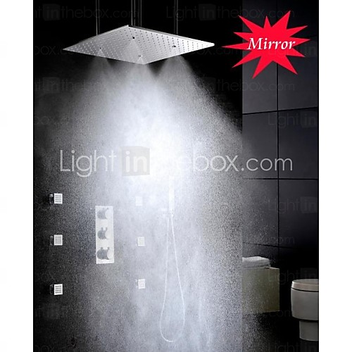 steam shower sprayer square