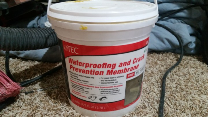 shower waterproofing product
