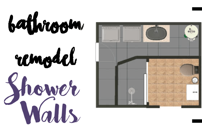 shower walls header