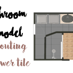 Bathroom Remodel: Grouting Shower Walls