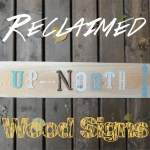 DIY Reclaimed Wood Signs