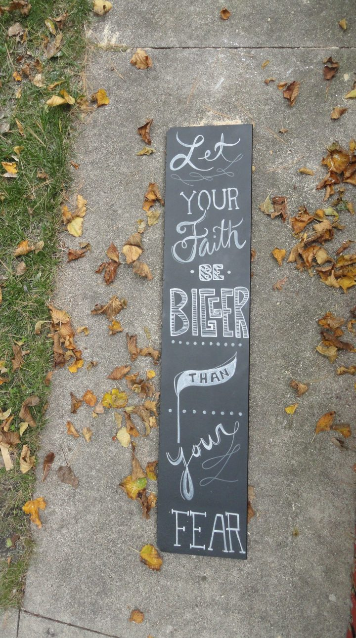 DIY reclaimed wood signs chalk paint