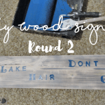 DIY Reclaimed Wood Signs #2