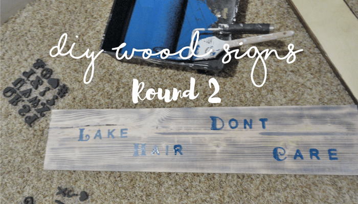 Diy Reclaimed Wood Signs 2 Leah And Joe Home Diy Projects Crafts