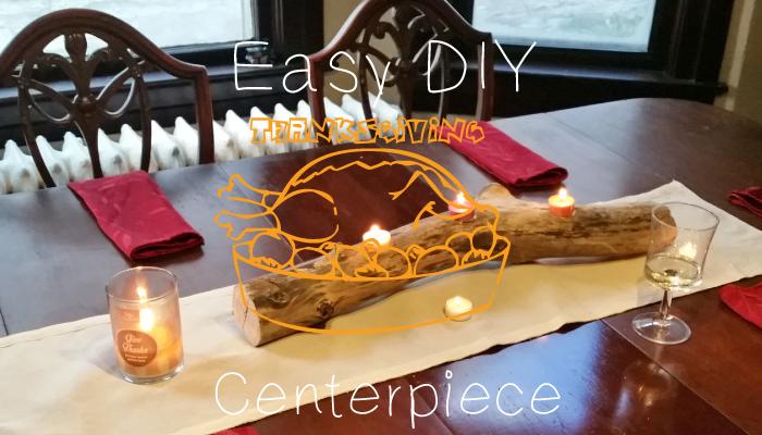 easy DIY thanksgiving centerpiece header