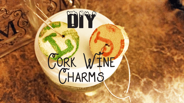 DIY cork wine charms header