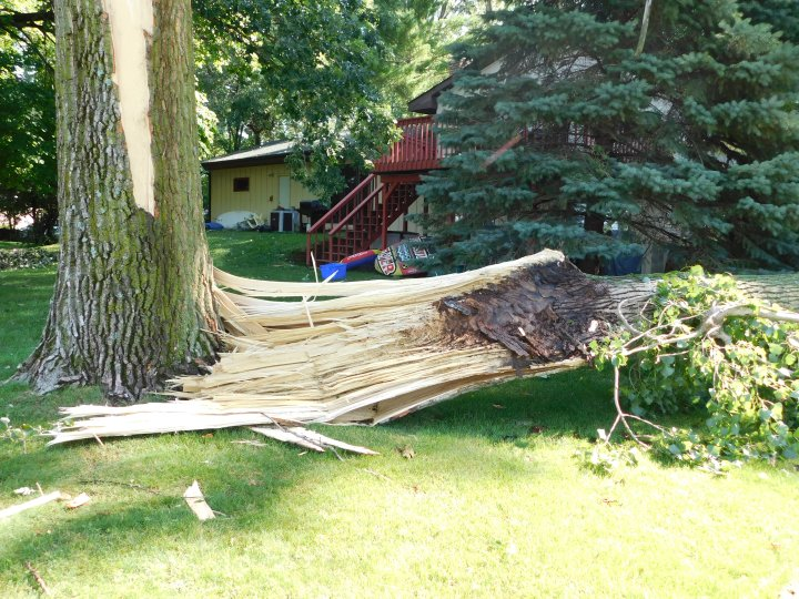July 2017 tornado damage Minnesota MN