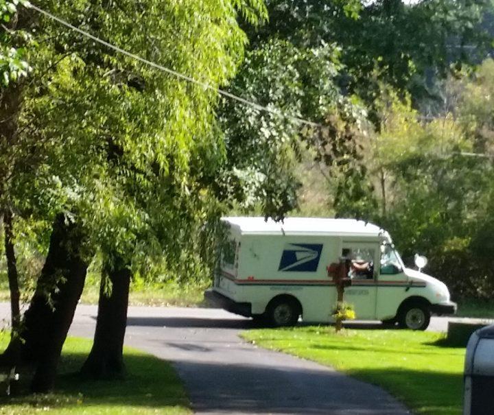 DIY Cedar Mailbox with light