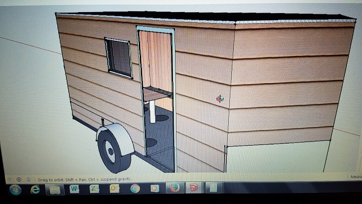 DIY ice shack house lake ice fishing permanent woodworking benches auto CAD software